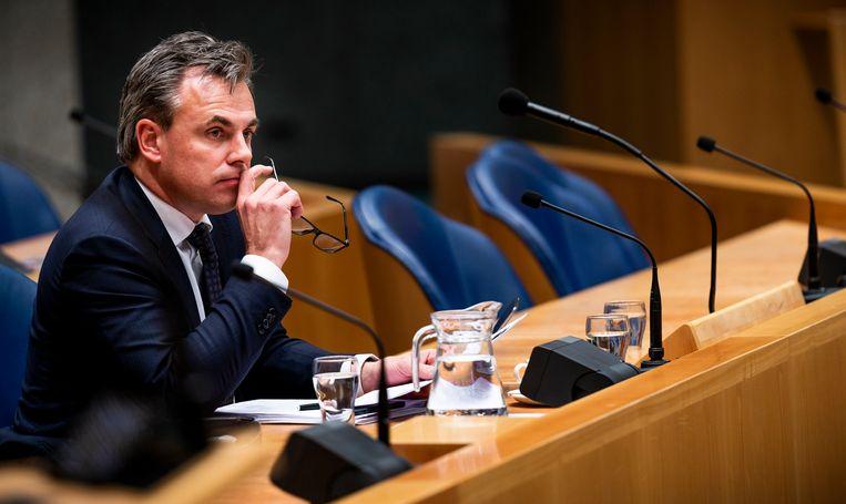 Staatssecretaris Mark Harbers van Justitie en Veiligheid (VVD). Beeld Freek van den Bergh