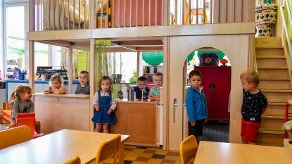 Extra speelruimte voor kleuterklassen