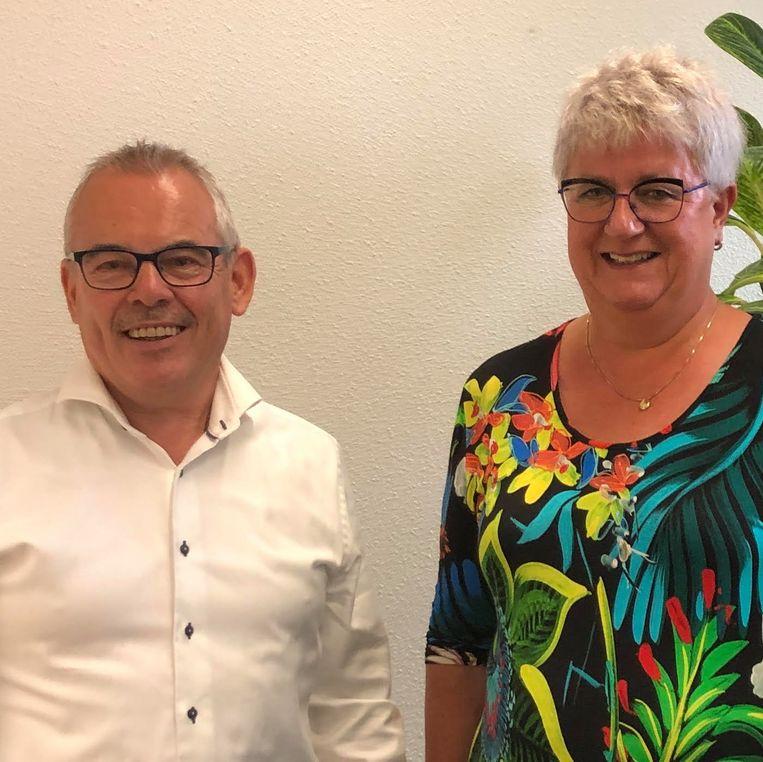 Anita Nibbelink en Bert Kuster. Beeld Toine Heijmans