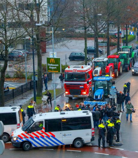 Zo verliep een nieuwe dag van boerenprotesten: van Den Bosch naar Eindhoven