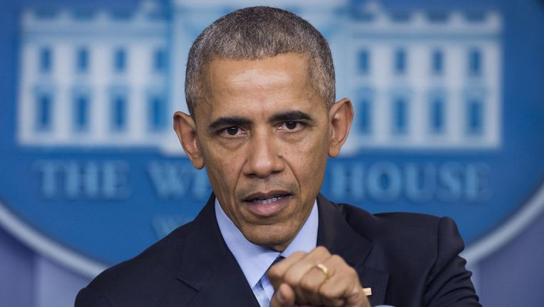 President Barack Obama. Beeld afp