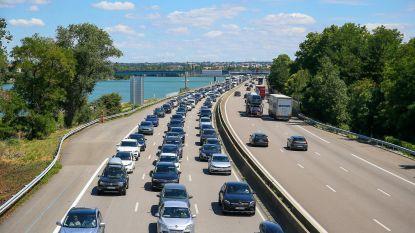 Rood weekend op de weg richting zuiden, ook vertragingen op terugweg mogelijk