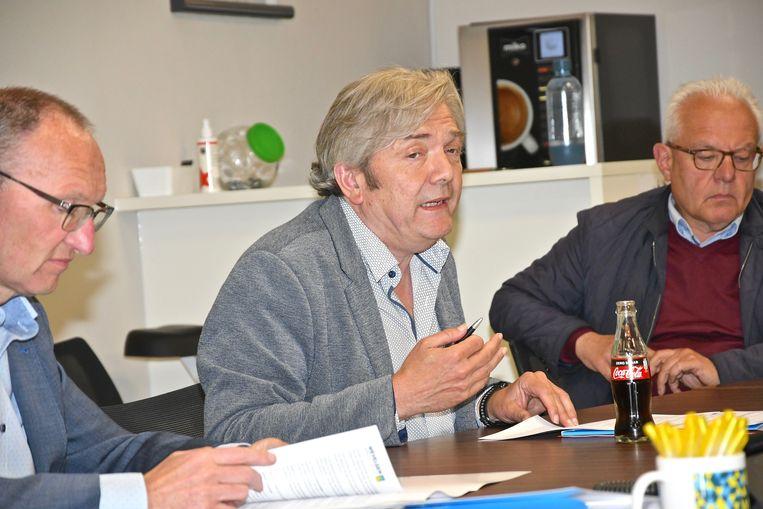 Algemeen directeur Kurt Parmentier doet het coronaherstelplan uit de doeken