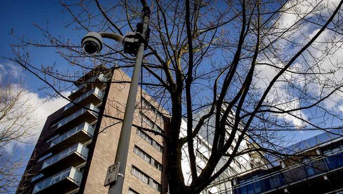 De flat aan de Apollolaan waar Benno L. woont.