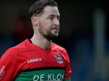 NEC-aanvoerder Van Eijden na 3-3 bij Jong FC Groningen: lat mag hoger