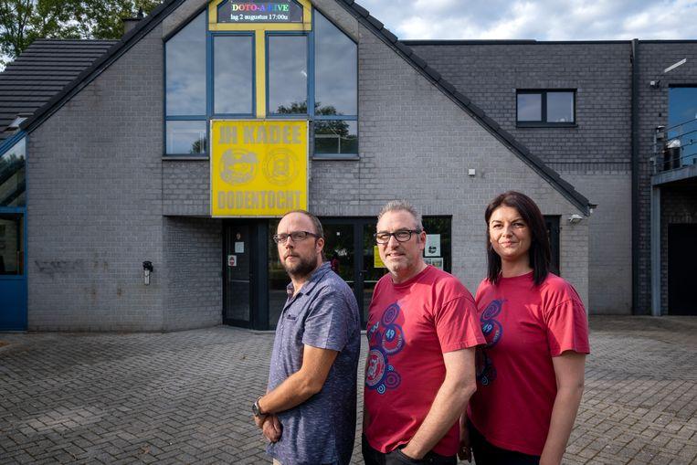 Thomas D'Hondt, Kurt Godyns en Priscilla Delgouffe organiseren 'Doto-A-Live'