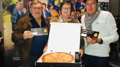 Jaak Van Assche, Cine-Aalst en Kingslize Pizza steunen nierpatiënten