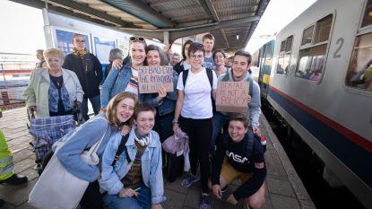 Twintigtal scholieren naar Brussel vertrokken voor klimaatbetoging