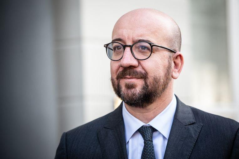 """Premier Michel roept op de onderhandelingen vanaf morgen voort te zetten. """"Een staking lost niets op"""", zegt hij."""