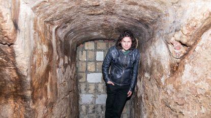 """Rocky Grispen zoekt én vindt onderaardse gangen: """"Hopelijk wil de stad die schatten blootleggen"""""""
