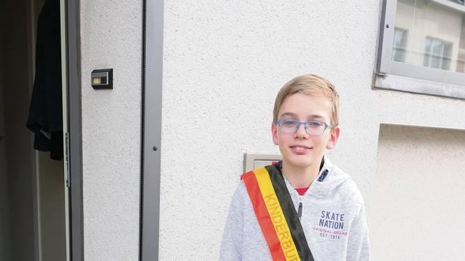 Maarten Nuttin (De Heppening) is nieuwe kinderburgemeester van Leopoldsburg