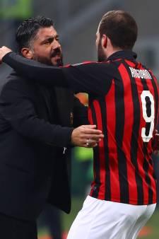 Gattuso neemt Higuaín niet op in selectie vanwege mogelijke transfer