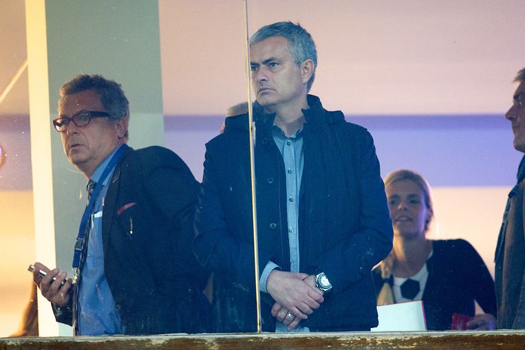 José Mourinho in Waregem.