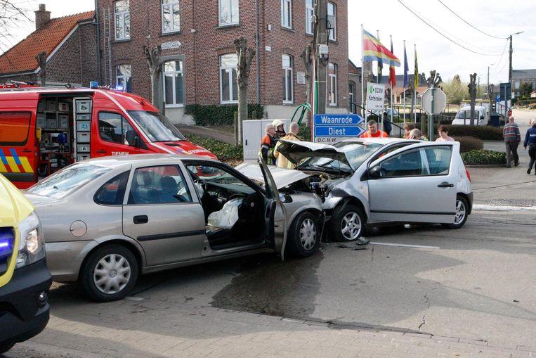 Het dodelijk ongeval gebeurde op de Heerbaan in Kersbeek-Miskom.