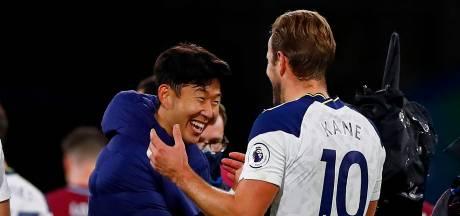 Koningskoppel Kane-Son helpt Spurs aan overwinning bij Burnley