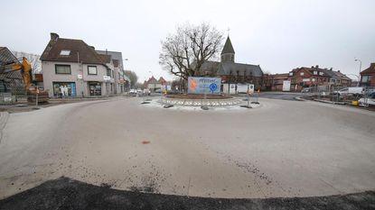 Rotonde in centrum opnieuw open