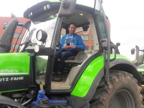 Protesterende boer Maarten uit Breukelen: 'We laten niet met ons sollen'