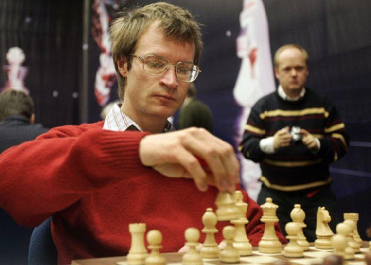 Sergej Tiviakov in actie. Beeld ANP