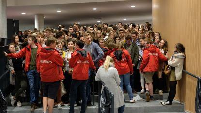 Overrompeling in Leuvense aula voor relatieadvies van 'Timtation'
