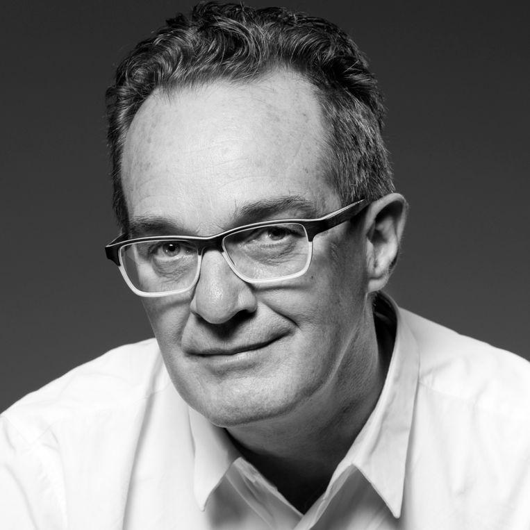 Fred Feddes, Publicist, gespecialiseerd in ruimtelijke- en stedelijke onderwerpen. Auteur van o.a. 1000 jaar Amsterdam, De Dam, en Fietsstad Amsterdam. Beeld Kees Hummel