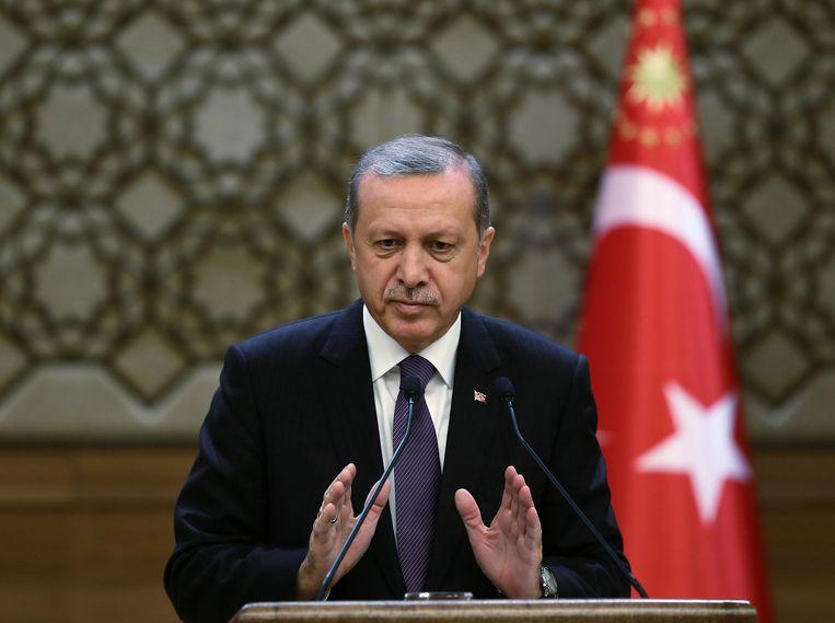 Erdogan. Beeld AP