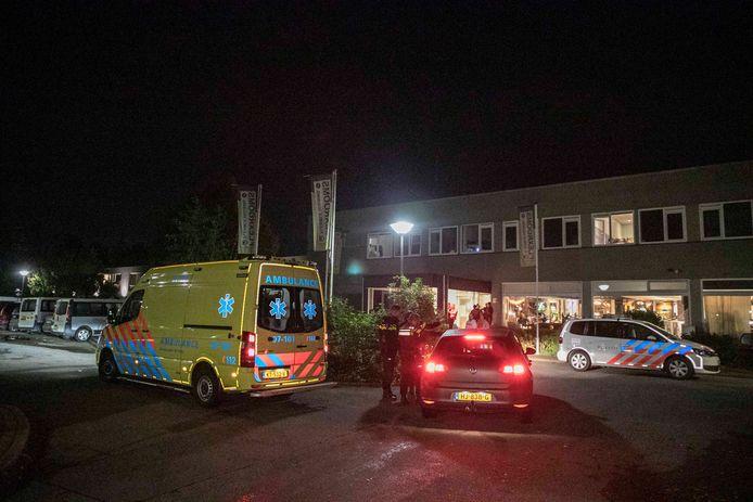 Bij de mishandeling in het 'Polenhotel' in Velp raakte een man gewond.