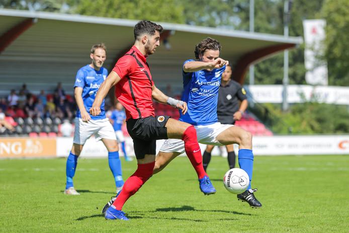 GVVV speelde eerder dit seizoen gelijk tegen AFC in Amsterdam.