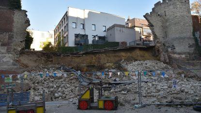 250.000 euro voor kleuterschool die deel van middeleeuwse stadsmuur op speelplaats kreeg