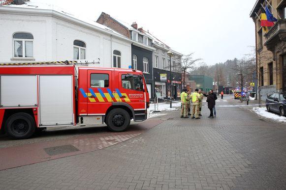 De brandweer kwam ter plaatse om gasmetingen uit te voeren op de Onze-Lieve-Vrouwsite in Sint-Genesius-Rode.