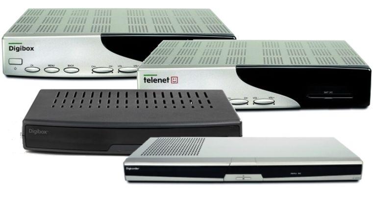 Wie een van deze digicorders of digiboxen heeft, kan vanaf 2 september geen digitale televisie meer kijken.