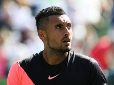 Kyrgios trekt zich geblesseerd terug op Roland Garros