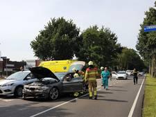 Drie auto's beschadigd bij aanrijding in Renkum