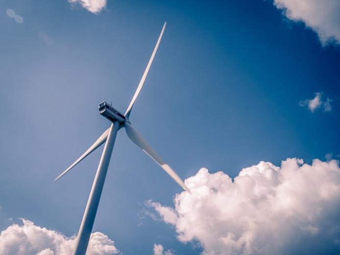 De buurtmolen die Qurrent voor De Bilt wil bouwen is veel kleiner dan de reguliere windmolens.