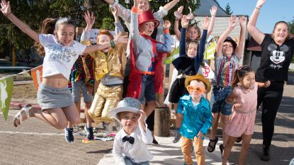 Broebelschool viert 5de verjaardag met glitter en glamour