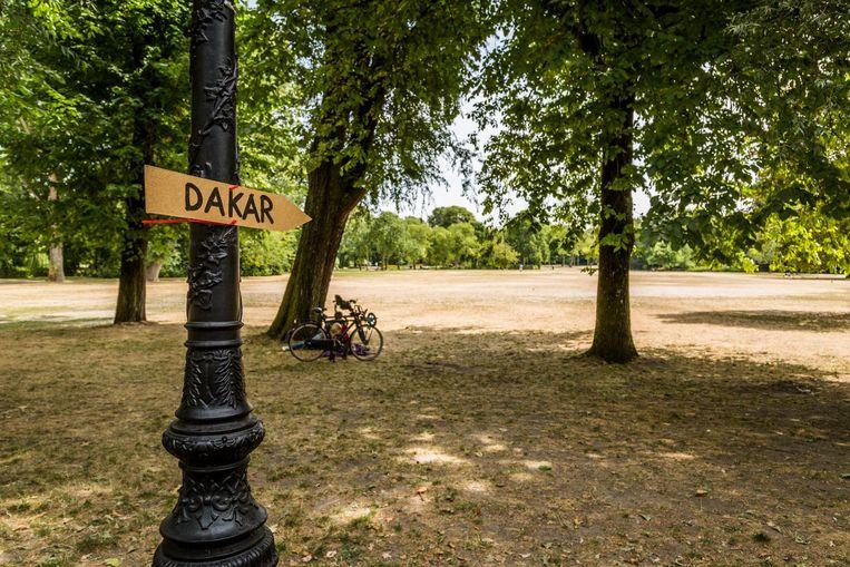 Het Oosterpark Beeld Tammy van Nerum