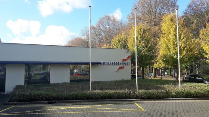 De centrale huisartsenpost aan de Lage Witsiebaan in Tilburg.