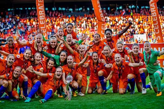 De Leeuwinnen zijn Europees kampioen!