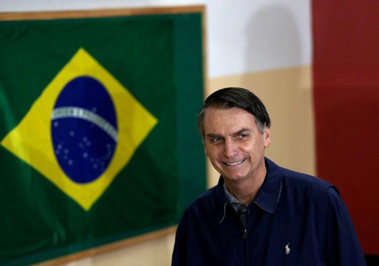 Jair Bolsonaro Beeld REUTERS