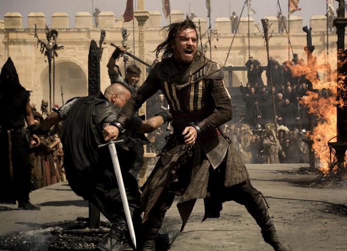 Scène uit Assassins creed.