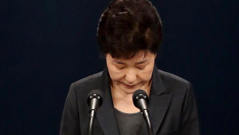 De Zuid-Koreaanse president Park Chung-hee. Beeld EPA
