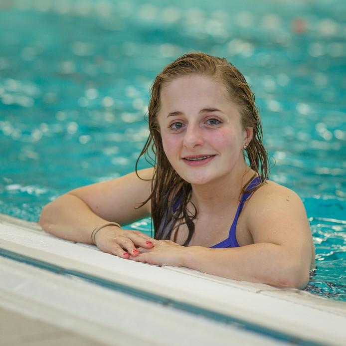 Manon Vermariën mikt op deelname aan de Paralympische Spelen in 2016.