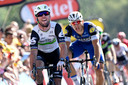 Mark Cavendish en Marcel Kittel.