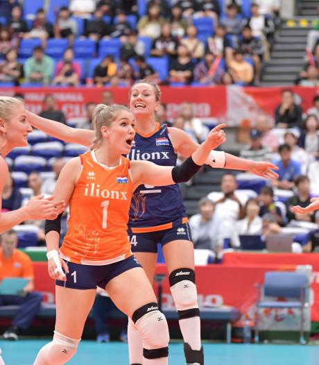 Beslissend OKT volleybal naar Apeldoorn