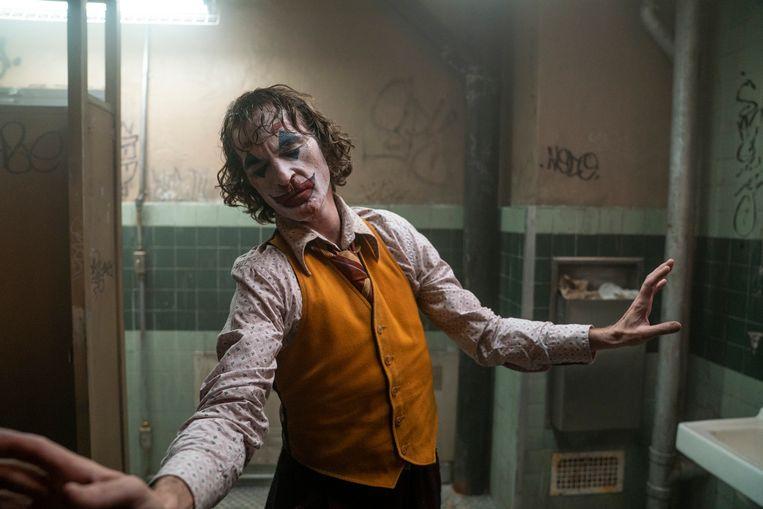 In 'The Joker', de film waarvoor hij de prijzen binnenrijft.