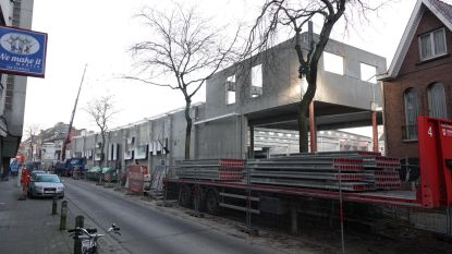 Loofstraat dag dicht voor bouw nieuwe Delhaize