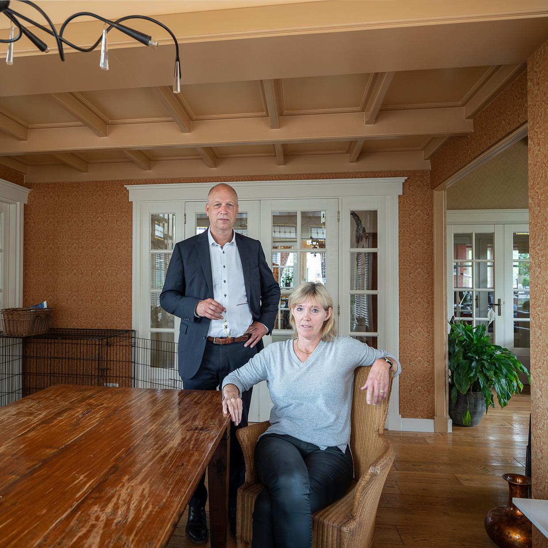 Vader Jakob en moeder Jantje van Roelf B. Beeld Harry Cock / de Volkskrant