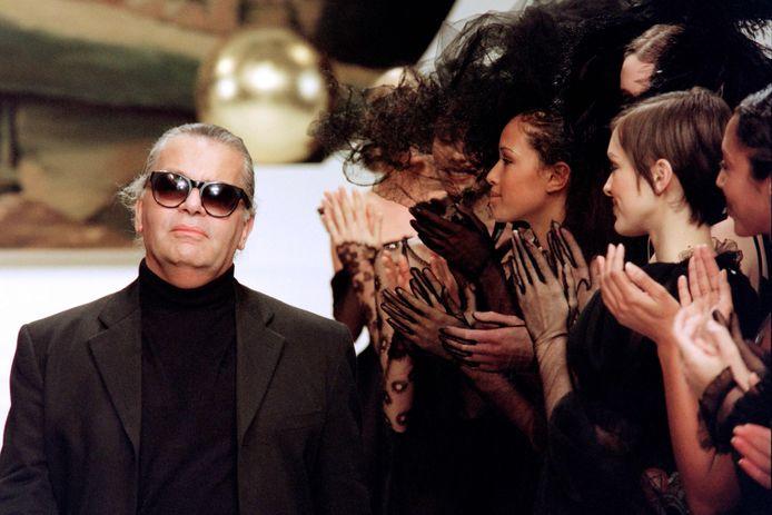 Lagerfeld in 1994