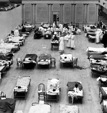 """""""Zonder de Spaanse griep was Hitler er misschien niet geweest"""""""