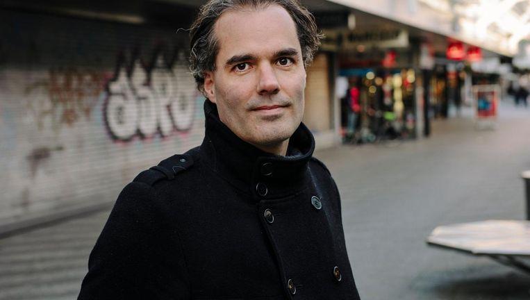 Laurens Ivens ergert zich aan de stagnatie op het Buikslotermeerplein: 'Dit is gênant' Beeld Marc Driessen