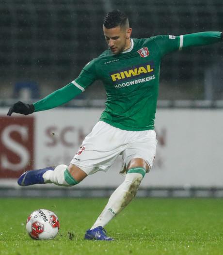 Dylan de Braal moet wachten op zijn kansen bij FC Dordrecht